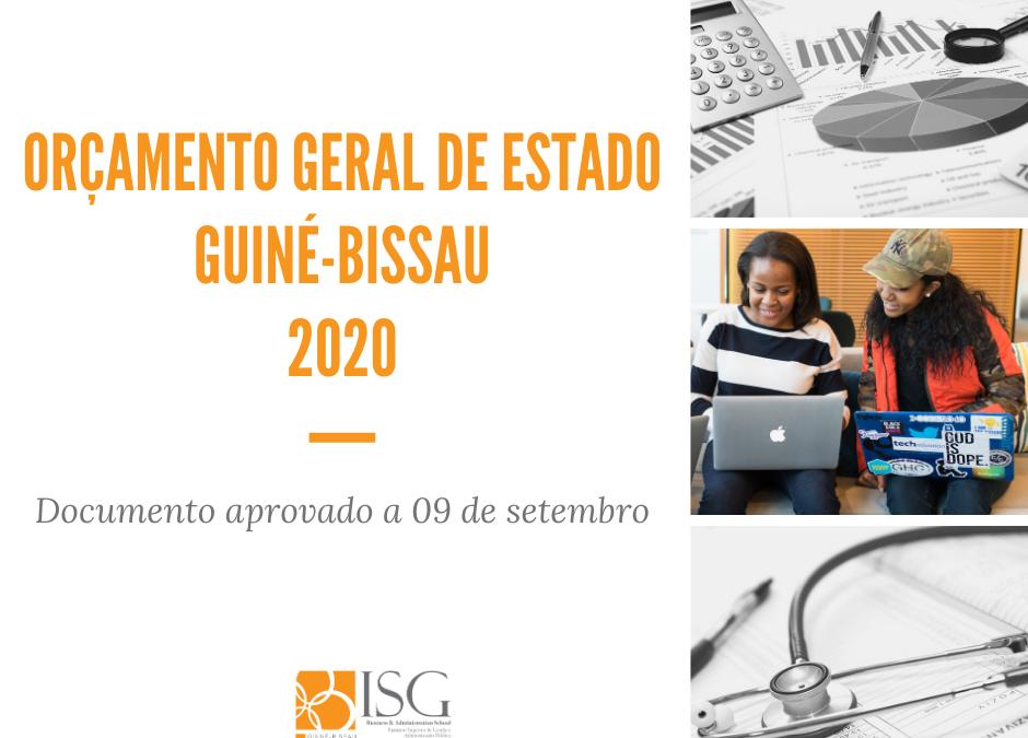 Orçamento Geral Estado Guiné-Bissau 2020