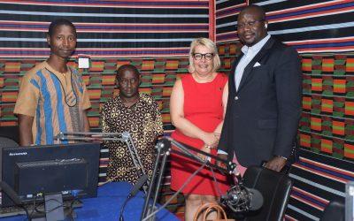 Entrevista Dra. Teresa Damásio à Rádio Difusão Nacional da Guiné-Bissau