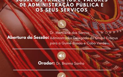 ISG Bissau e IPT promovem Conferência Estudantil